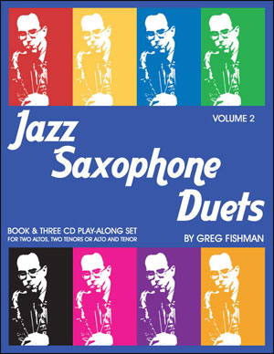 Jazz Saxophone Duets - Volume 2 - Bk/3CDs