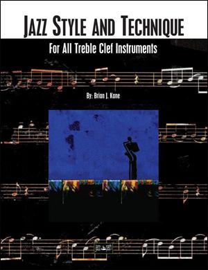 Jazz Style and Technique - Treble Clef
