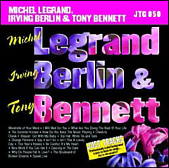 Michel Legrand Irving Berlin & Tony Bennett - CD