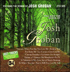 Sing The Songs of Josh Groban - CD