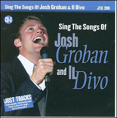 Sing The Songs of Josh Groban and Il Divo - CD