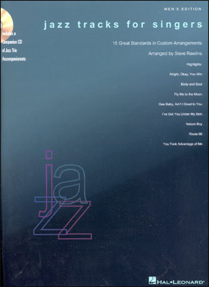 Jazz Tracks For Singers - Mens' Edition