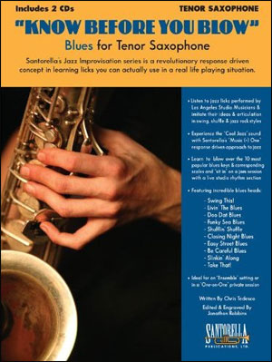 Know Before You Blow - Blues Edition for Tenor Sax