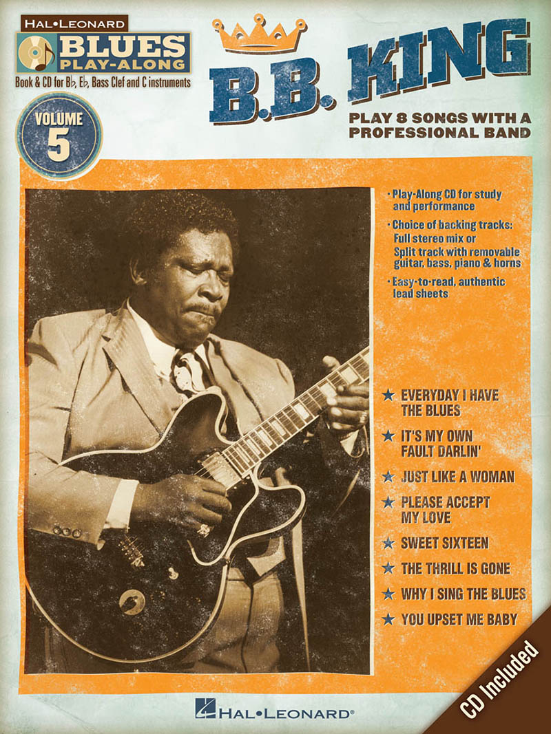 B.B. King - Blues Play-Along Volume 5