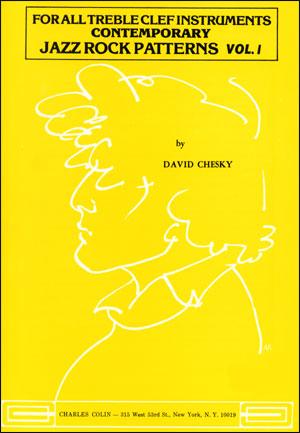 Contemporary Jazz Rock Patterns Volume 1 - Treble Clef