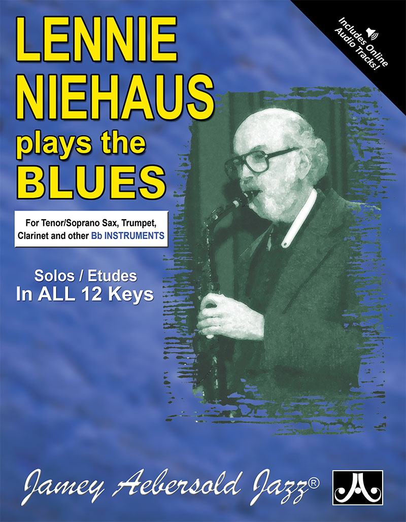 "Lennie Niehaus Plays The Blues - Etudes for Vol. 42 ""Blues In All Keys"" - B Flat"