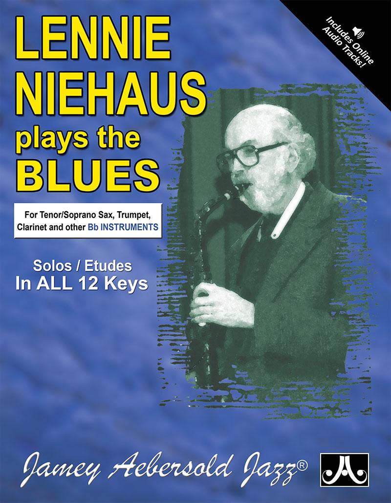 "Lennie Niehaus Plays The Blues - Etudes for Vol. 42 ""Blues In All Keys"" - B Flat"