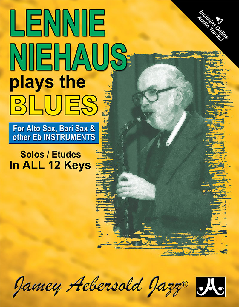 "Lennie Niehaus Plays The Blues - Etudes for Vol. 42 ""Blues In All Keys"" - E Flat"
