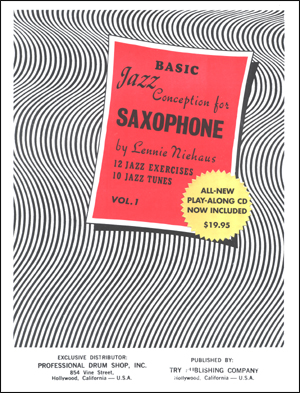 Jazz Conception For Saxophone - Basic #1 Book/CD
