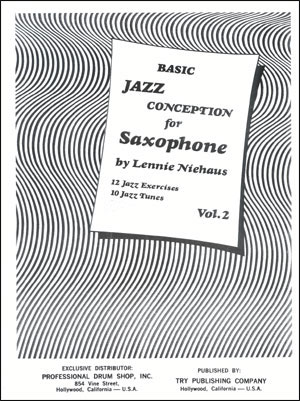 Jazz Conception For Saxophone - Basic #2 - Book/CD