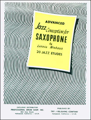 Jazz Conception For Saxophone - Advanced - Book/CD