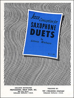 Jazz Conception For Saxophone Duets - Book/CD