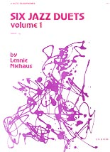 Six Jazz Duets by Lennie Niehaus - 2 Altos