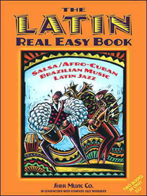 The LATIN Real Easy Book - Bass Clef