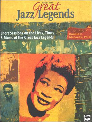 Meet The Great Jazz Legends - Book/CD