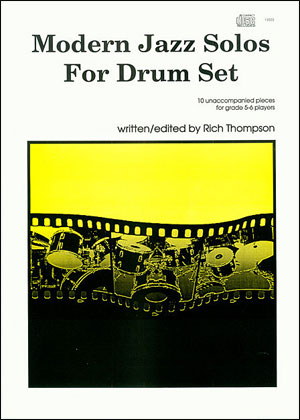 Modern Jazz Solos For Drum Set