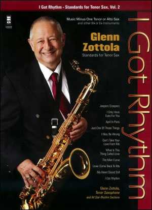 Standards for Tenor Sax -  vol. 2 (Glenn Zottola) (minus Tenor Sax)