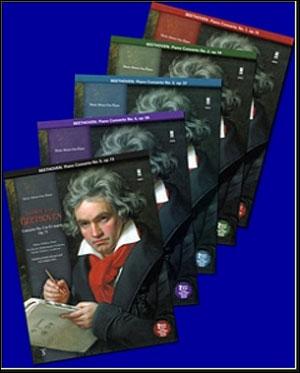 BEETHOVEN Complete Piano Concerti 1-5
