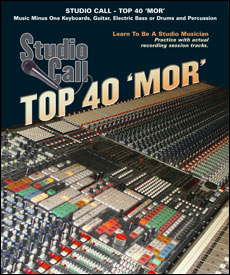 Studio Call: Top 40 'MOR' (minus Bass/Electric Bass)