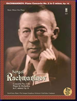 RACHMANINOV Concerto No. 2 in C minor -  op. 18 (Digitally Remastered 2 CD set) (minus Piano)