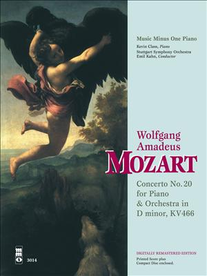 MOZART Concerto No. 20 in D minor -  KV466 (Digitally Remastered 2 CD set) (minus Piano)