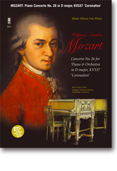 MOZART Concerto No. 26 in D major -  KV537 -  'Coronation' (Digitally Remastered 2 CD set) (minus Pi