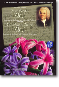 J.S. BACH Concerto in F minor -  BWV1056; J.C.Fr. BACH Concerto in E-flat major (Digitally Remastere