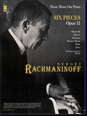 RACHMANINOV Six Scenes for piano duet 1P/4H (minus Piano)