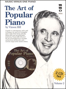 The Art of Popular Piano Playing -  vol. II - Student Level (2 CD Set) (minus Piano)
