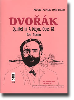 DVORAK Quintet in A major -  op. 81 (minus Piano)