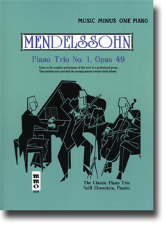 MENDELSSOHN Piano Trio No. 1 in D minor -  op. 49 (minus Piano)