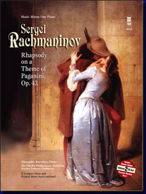 RACHMANINOV Rhapsody on a Theme of Paganini (2 CD set) (minus Piano)