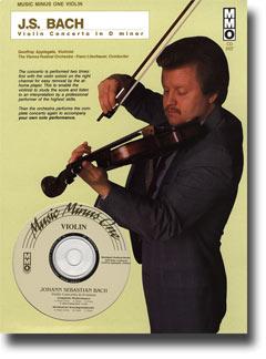 J.S. BACH Violin Concerto in D minor (from Concerto No. 1 for Harpsichord -  BWV1052) (minus Violin)