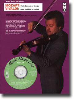 MOZART Violin Concerto No. 4 in D major -  KV218; VIVALDI Concerto in A minor -  op.3 no.6 (minus Vi