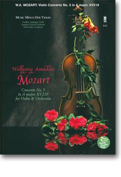 MOZART Violin Concerto No. 5 in A major -  KV219 (Digitally Remastered 2-CD set) (minus Violin)