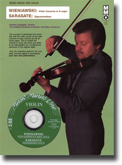 WIENIAWSKI Violin Concerto No. 2 in D minor -  op. 22; SARASATE Zigeunerweisen ('Gypsy Ways') -  op.