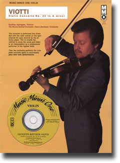 VIOTTI Violin Concerto No. 22 in A minor  -  G97 (New Digitally Remastered 2 CD set) (minus Violin)