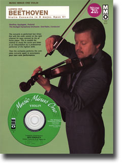 BEETHOVEN Violin Concerto in D Major -  op. 61 (Digitally Remastered 3 CD Set) (minus Violin)