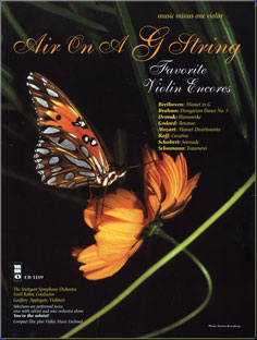 Air on a G String: Favorite Encores with Orchestra (Easy-Medium) (minus Violin)