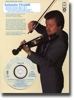 VIVALDI L'Estro Armonico: Violin Concerti in A minor -  op. 3 -  no. 6 -  RV356; Concerto Grosso in