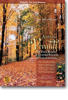 VIVALDI 'Le Quattre Stagioni' ('The Four Seasons') for violin and orchestra -  op. 8 -  nos. 1-4 (2