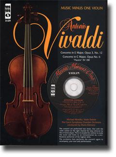 VIVALDI Violin Concerto in E major -  op. 3 -  no. 12 -  RV265; Violin Concerto in C major -  op. 8
