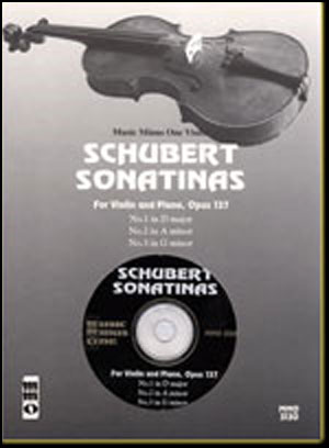 SCHUBERT Three Sonatinas (minus Violin)