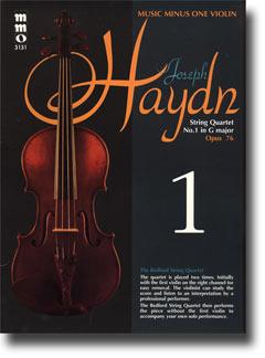 HAYDN String Quartet in G major -  'Erdödy - ' op. 76 -  no. 1 -  HobIII:75 (minus Violin)