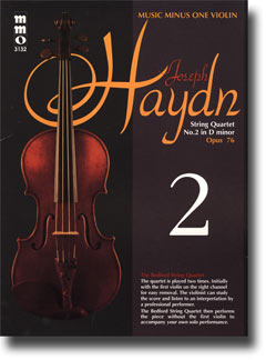HAYDN String Quartet in D minor -  'Fifths'/'The Bell'/''The Donkey - ' op. 76 -  no. 2 -  HobIII:76