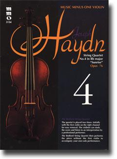 HAYDN String Quartet in B-flat major -  'Sunrise - ' op. 76 -  no. 4 -  HobIII:78 (minus Violin)