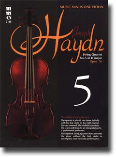 HAYDN String Quartet in D major -  'Largo - ' op. 76 -  no. 5 -  HobIII:79 (minus Violin)