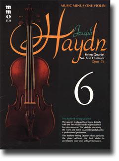 HAYDN String Quartet in E-flat major -  op. 76 -  no. 6 -  HobIII:80 (minus Violin)