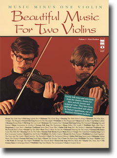 Beautiful Music for Two Violins -  vol. I: 1st position (minus Violin)