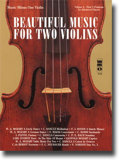 Beautiful Music for Two Violins -  vol. IV: 1st -  2nd -  3rd position (minus Violin)